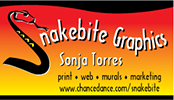 Snakebite Graphics Business Card